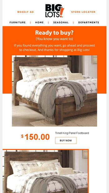 Big Lots Bedroom Furniture where D You Go Ready to Checkout Big Lots Email Archive