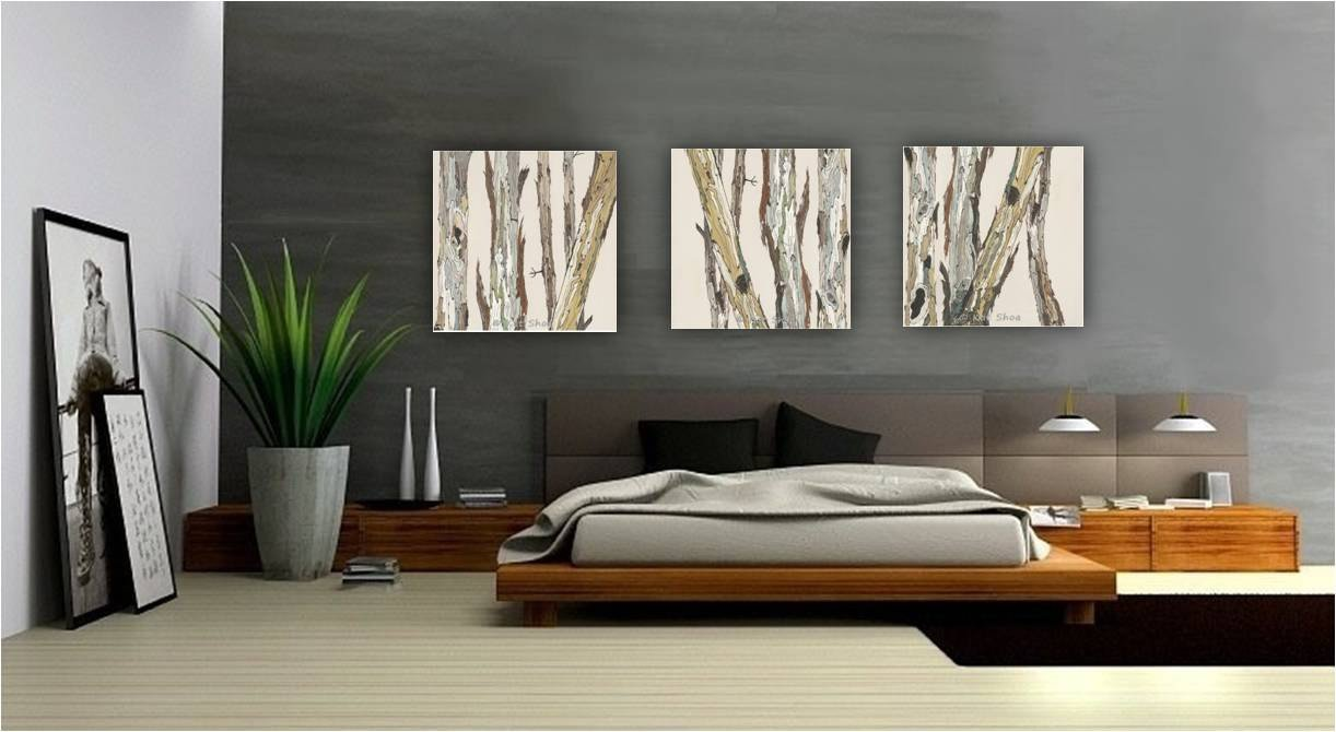 Big Wall Decor Living Room Extra Large Wall Art Oversized Triptych Set Dining Room