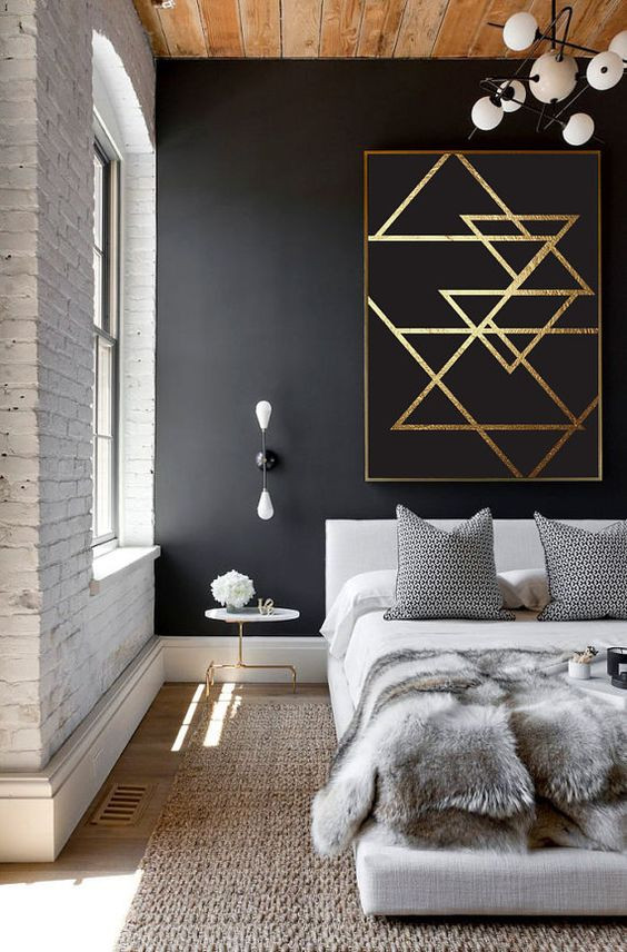 Black and Gold Bedroom Decor Style Guide Black and Gold Bedroom Ideas
