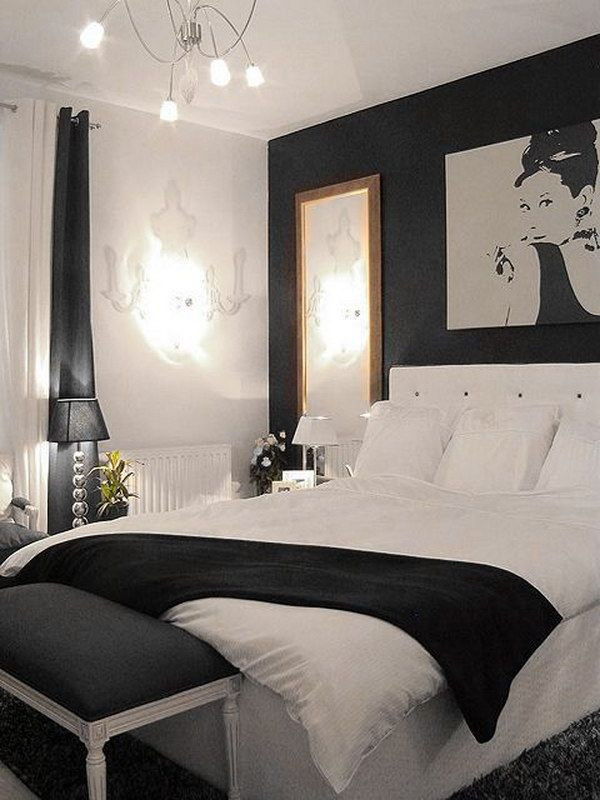 Black and Silver Bedroom Ideas 24 Black and White Bedroom Ideas