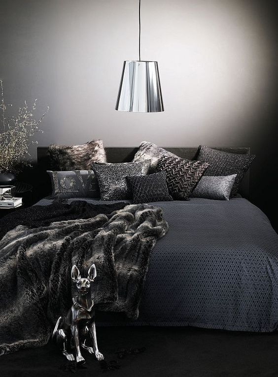 Black and Silver Bedroom Ideas 35 Awesome Bedding Ideas for Masculine Bedrooms