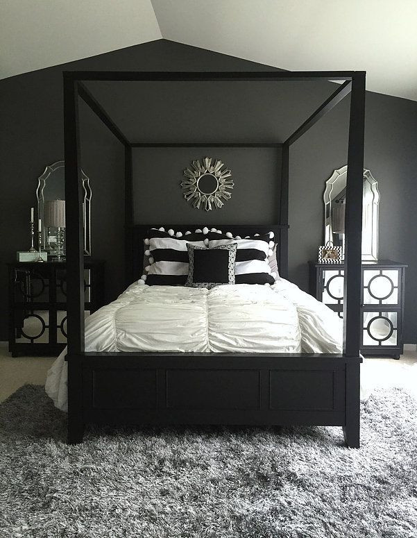 Black and Silver Bedroom Ideas Colors for the Small Bedroom – Black and White Eternity for