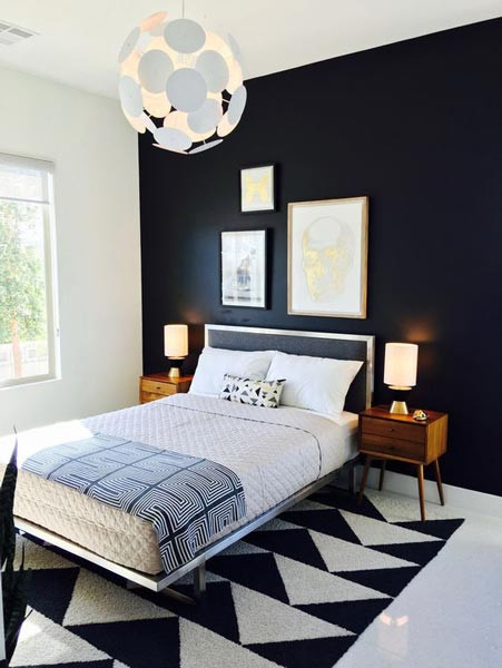 Black and White Bedroom Decor 75 Stylish Black Bedroom Ideas and S