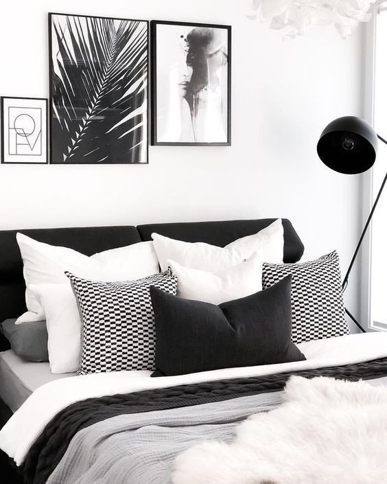 Black and White Bedroom Decor Black and White Bedrooms Interior Design Trends for 2019