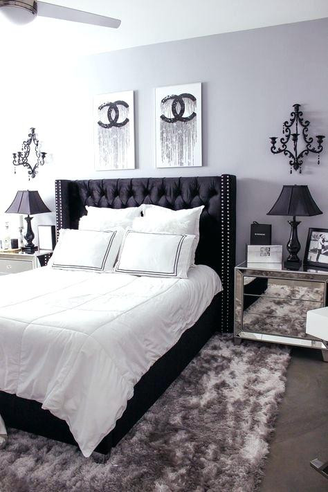 Black and White Bedroom Decor Black and White Room Decor
