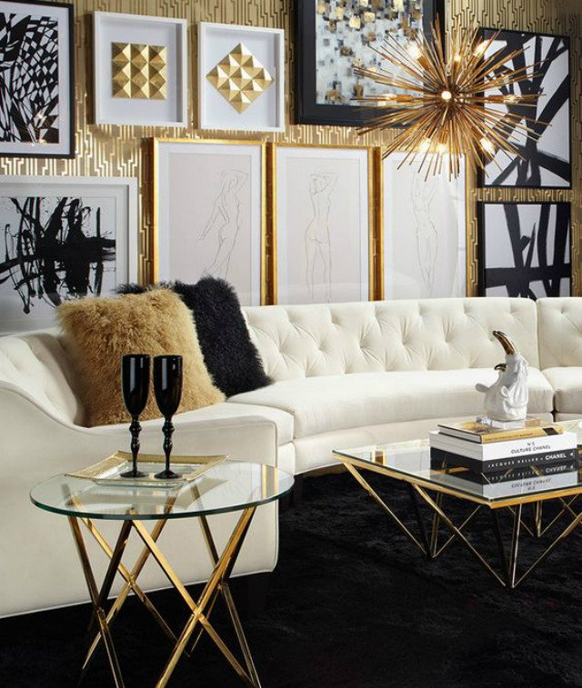 Black and White Living Room Decorating Ideas 15 Black and White Living Room Ideas