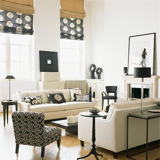 Black and White Living Room Decorating Ideas 21 Creative&inspiring Black and White Traditional Living