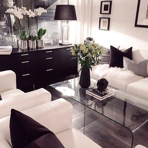 Black and White Living Room Decorating Ideas 21 Modern Living Room Decorating Ideas