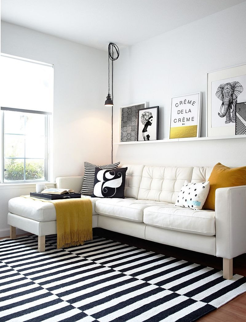 Black and White Living Room Decorating Ideas 50 Chic Scandinavian Living Rooms Ideas Inspirations