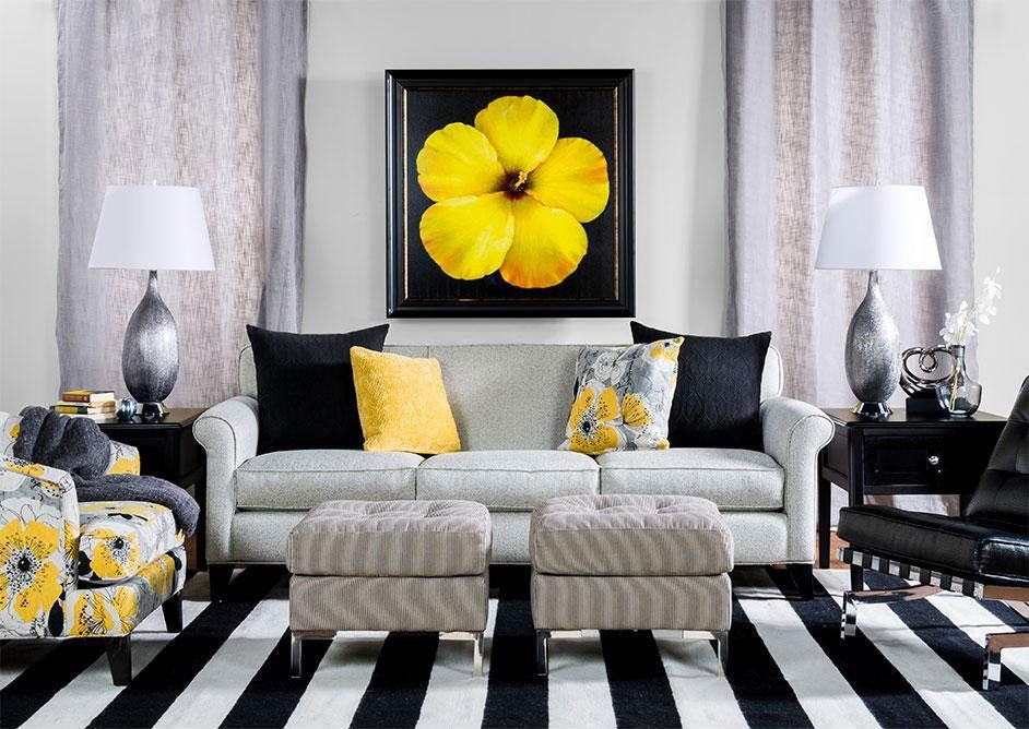 Black and White Living Room Decorating Ideas Living Spaces Contemporary Chic What Most People See as