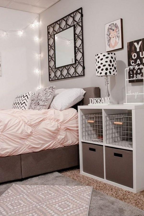 Black and White Teenage Bedroom 40 Beautiful Teenage Girls Bedroom Designs for Creative