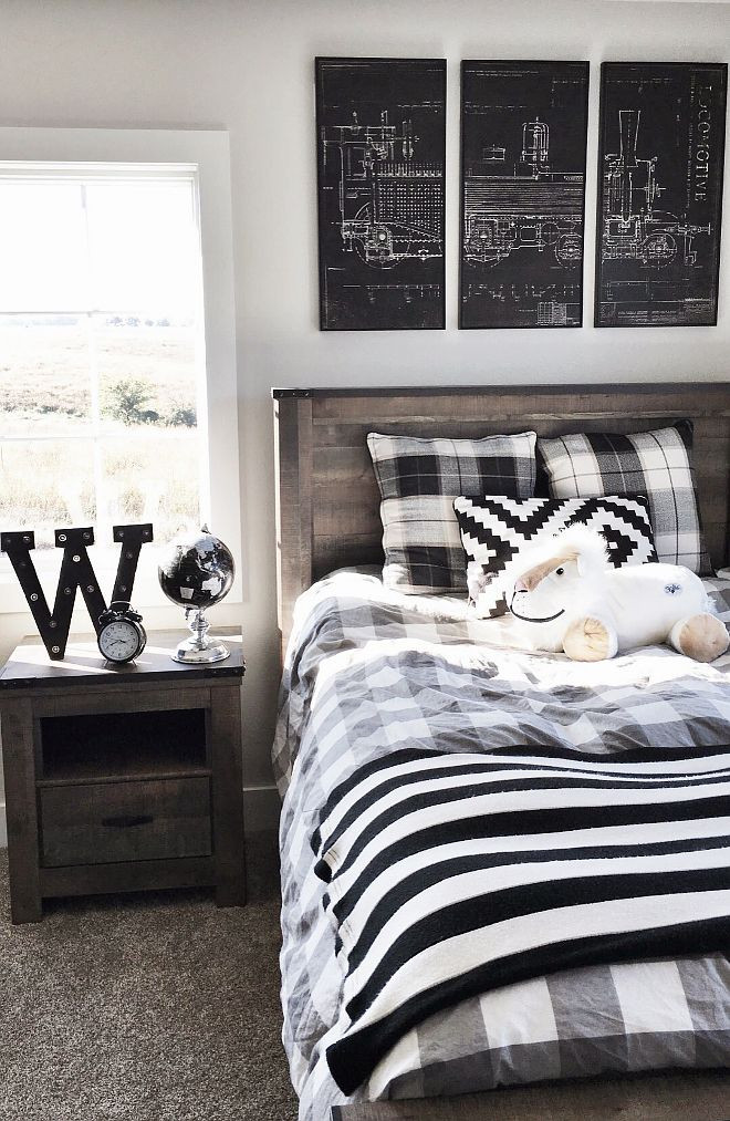 Black and White Teenage Bedroom Pin On for Corigan