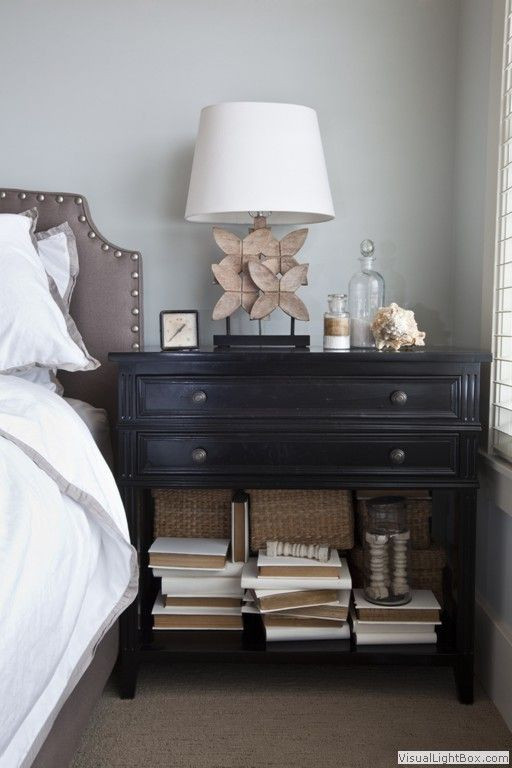 Black Bedroom Side Table I Was Searching for Alternatives to the Colonial 2 Drawer
