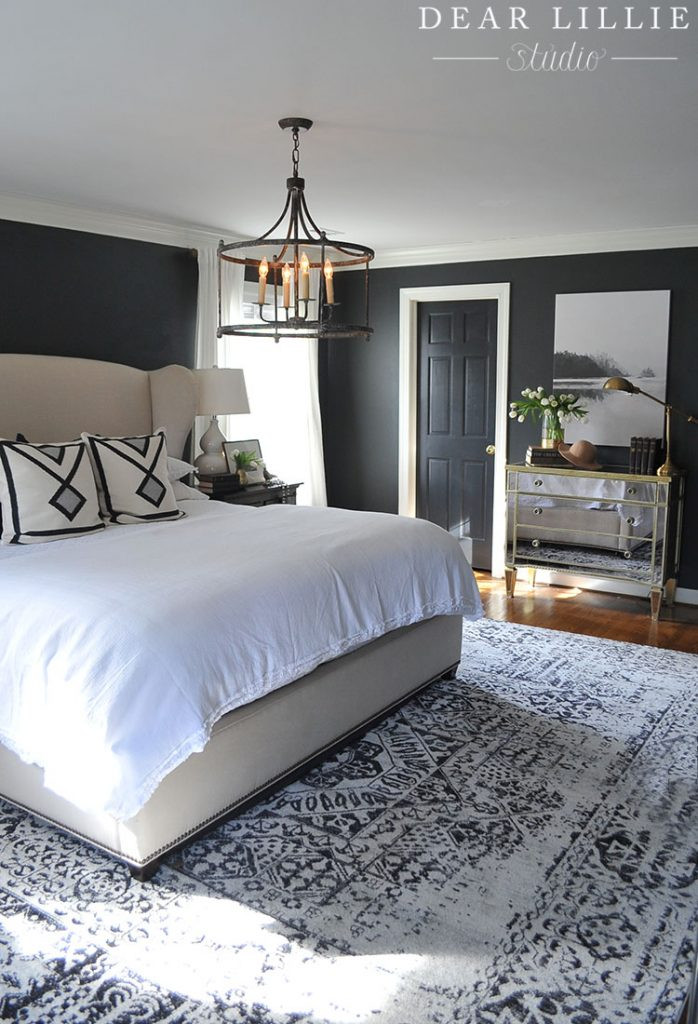 Black Rugs for Bedroom A New Rug and Artwork for Our Master Bedroom Dear Lillie
