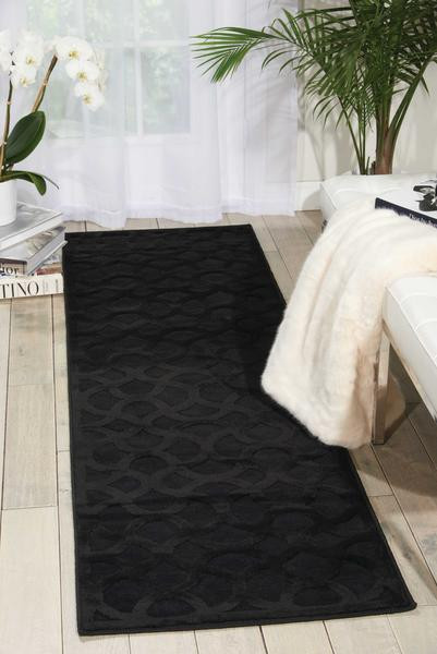 Black Rugs for Bedroom Nourison Ultima Ul392 Black area Rug