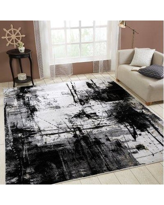 Black Rugs for Bedroom Williston forge Williston forge Stourbridge Black Gray area Rug X Rug Size Rectangle 2 X 3 From Wayfair