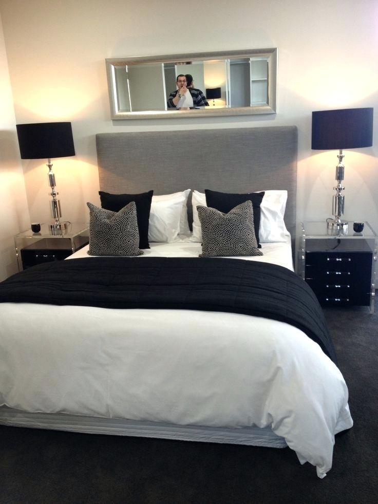 Black White and Gray Bedroom Black White Grey Bedroom