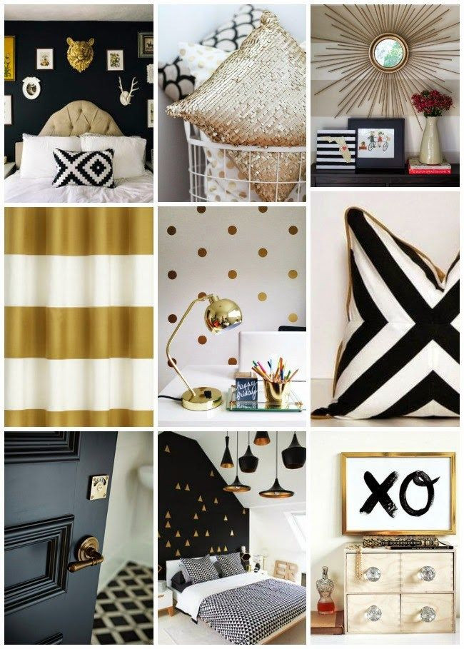 Black White Gold Bedroom Pin by Love Mykids On Girl S Room In 2019