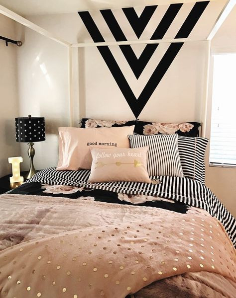 Black White Gold Bedroom Trending today Shades Of Black & White