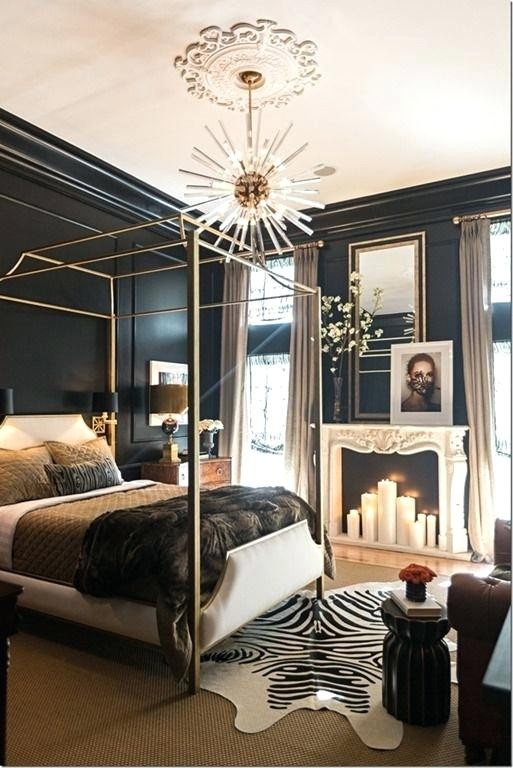 Black White Gold Bedroom White and Gold Bedroom Decor