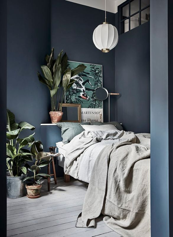 Blue and Gray Bedroom Best Blue Paint Colors to Pick for Your Home