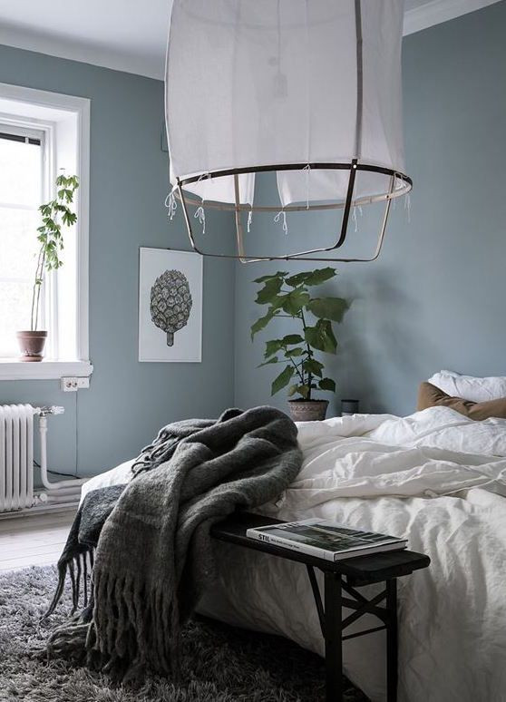 Blue and Gray Bedroom Blue Grey Bedroom