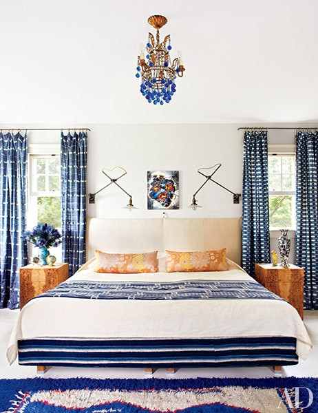 Blue and White Bedroom Decor 30 Rooms that Showcase Blue and White Decor