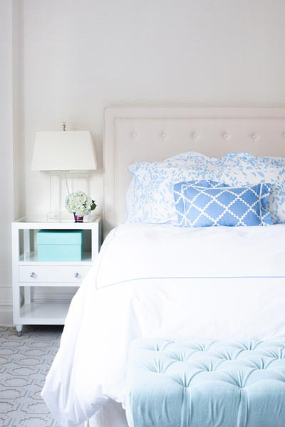 Blue and White Bedroom Decor 75 Brilliant Blue Bedroom Ideas and S