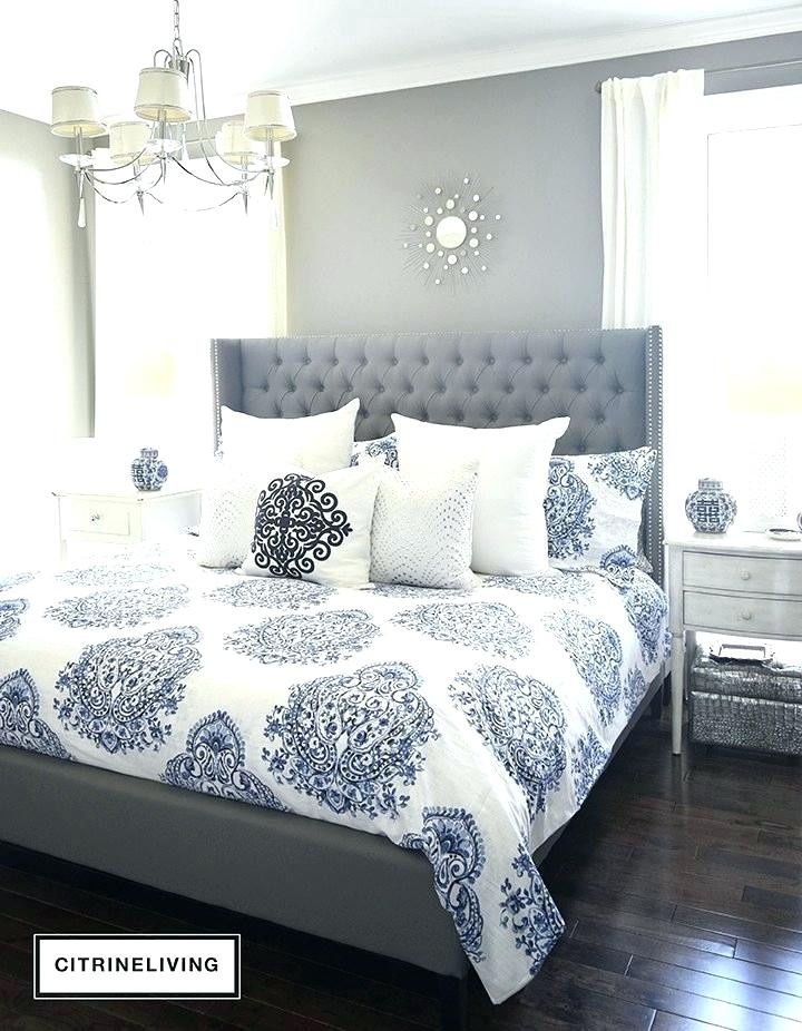 Blue and White Bedroom Ideas Blue and White Bedroom Decorating Ideas – Thomashome