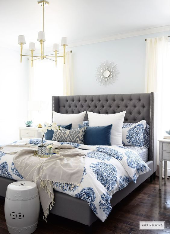 Blue and White Bedroom Ideas Guest Bedroom Ideas Design Plans