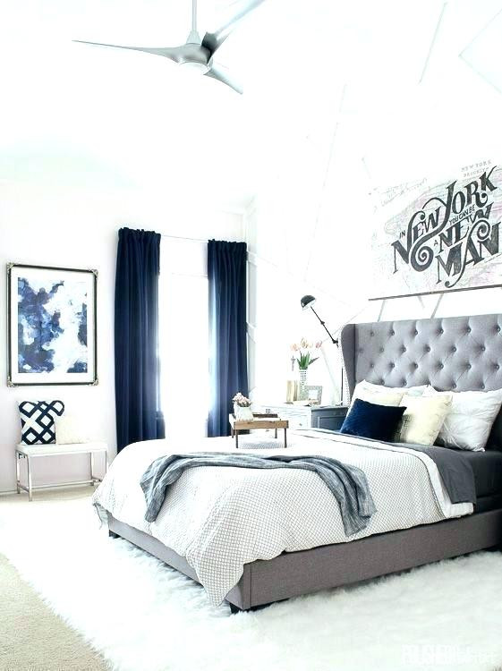 Blue and White Bedroom Ideas Navy Blue and White Bedroom Ideas Grey Decor Red Gray