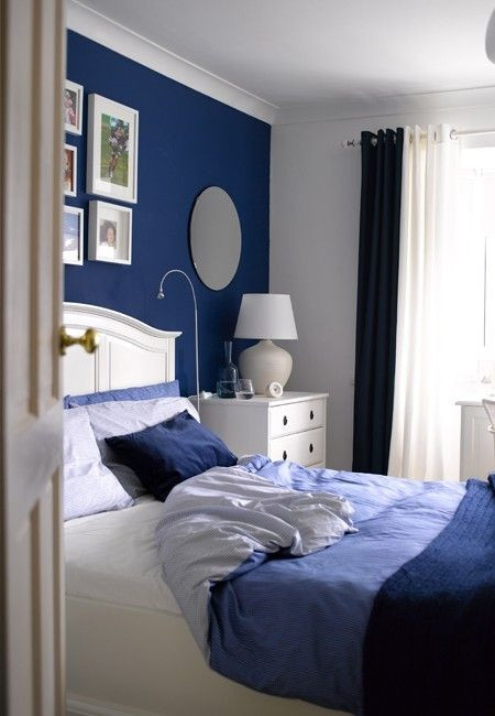 Blue and White Bedroom Ideas so I Want to Do A Light House theme for Our Master Bedroom