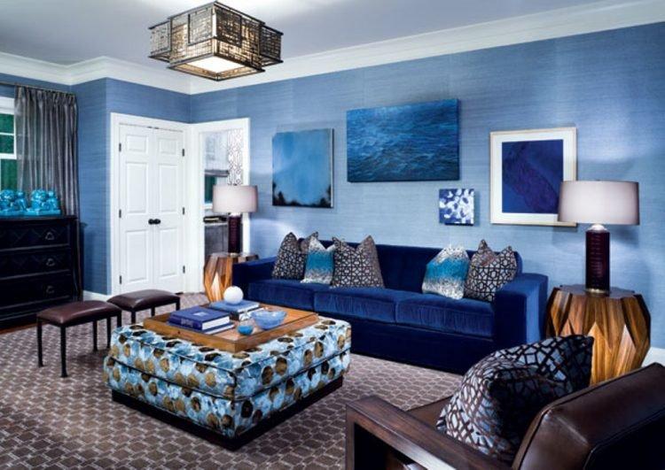 Blue Living Room Decor Ideas 10 Blue Living Room Ideas and Designs