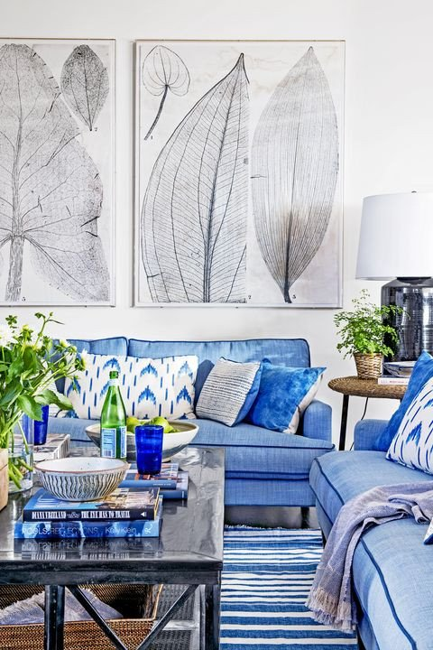 Blue Living Room Decor Ideas 25 Best Blue Rooms Decorating Ideas for Blue Walls and