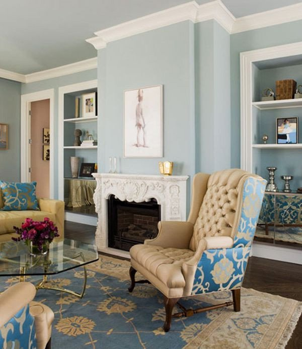 Blue Living Room Decor Ideas Decorating with Beige and Blue Ideas and Inspiration
