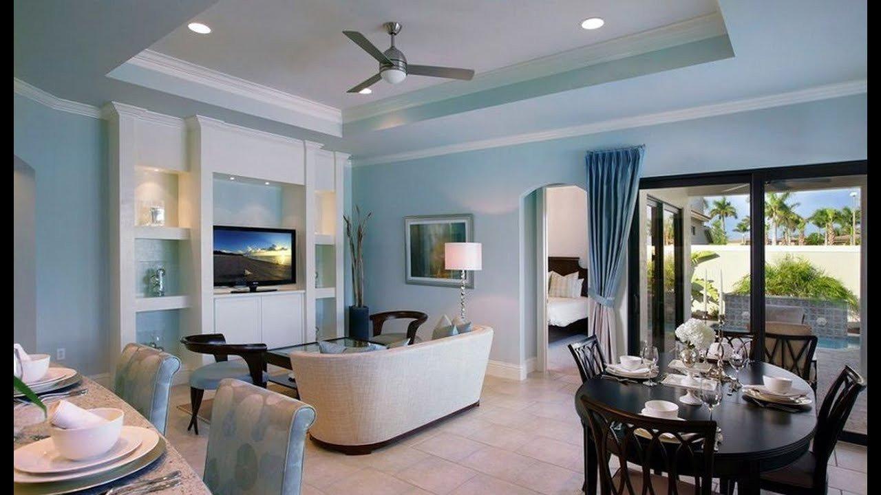 Blue Living Room Decor Ideas Light Blue Walls Rendering Living Room