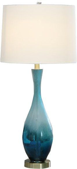 "Blue Table Lamps Bedroom Aaron 31"" Table Lamp"