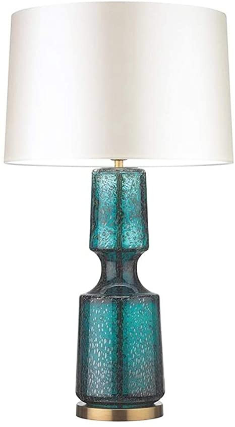 Blue Table Lamps Bedroom Amazon Table Lamp Personality Blue Table Lamp Bedroom