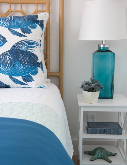 Blue Table Lamps Bedroom Blue Lamps & Lighting Ideas for Coastal Rooms Coastal