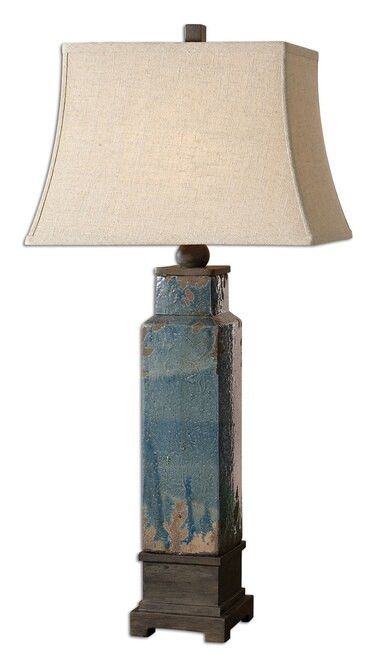 Blue Table Lamps Bedroom soprana Blue Table Lamp