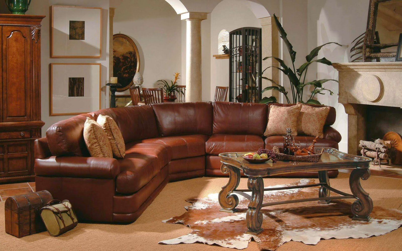 Brown Furniture Living Room Decor 6 Living Room Decor Ideas with Sectional