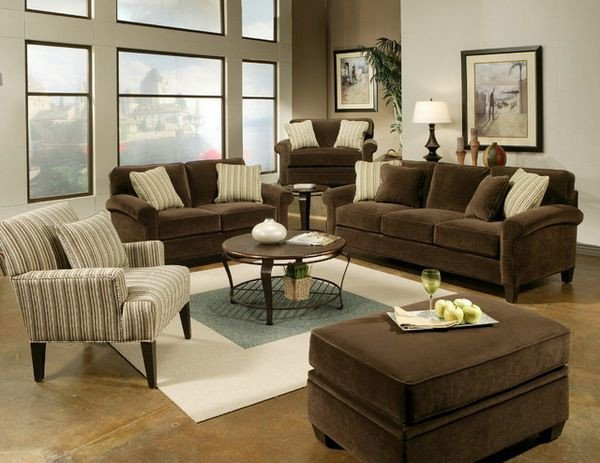 Brown Furniture Living Room Decor Elegant Brown Living Room Sets Design Ideas Brown Living