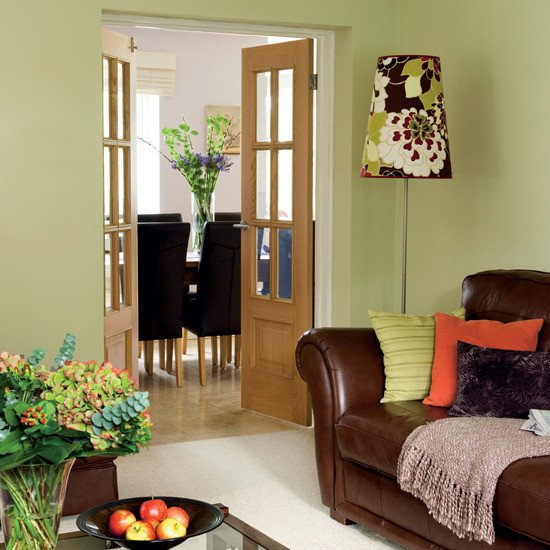 Brown Living Room Decor Ideas 28 Green and Brown Decoration Ideas