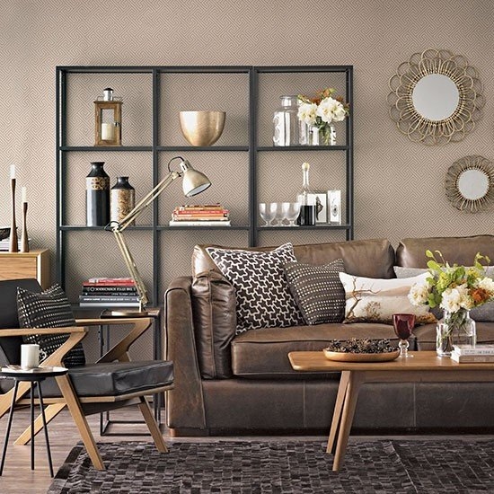 Brown Living Room Decor Ideas Chocolate Brown Living Room