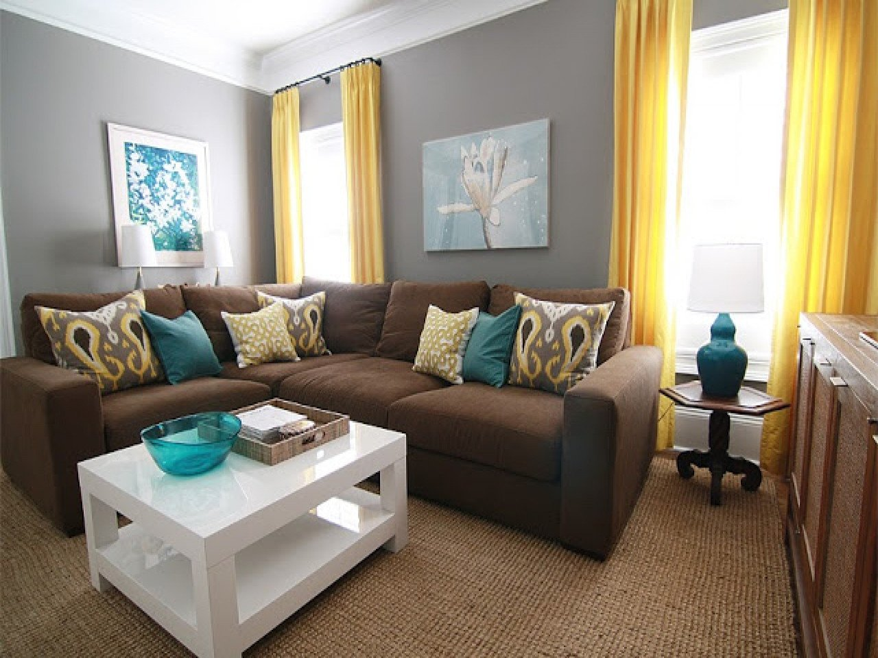 Brown Living Room Decor Ideas Teal and Brown Living Room Decor Zion Star
