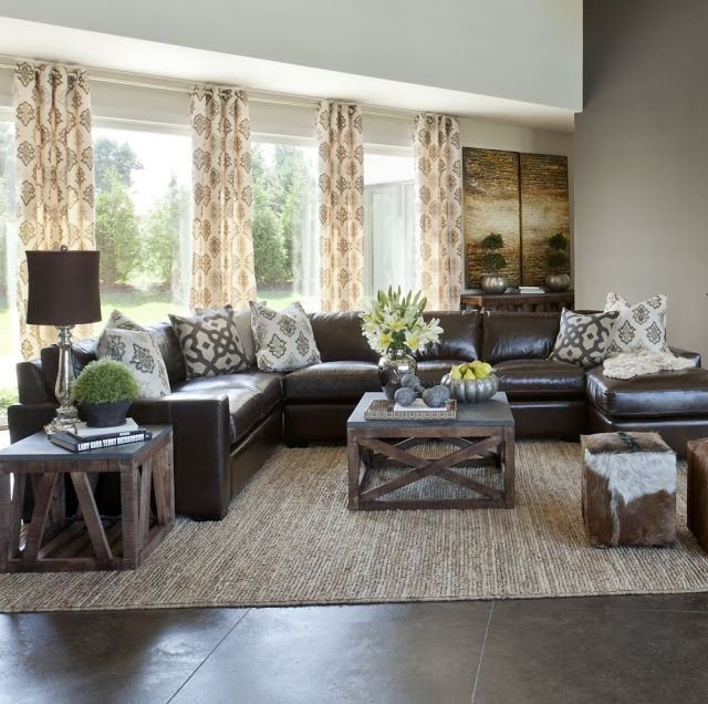 Brown Living Room Decorating Ideas 10 Creative Methods to Decorate Along with Brown