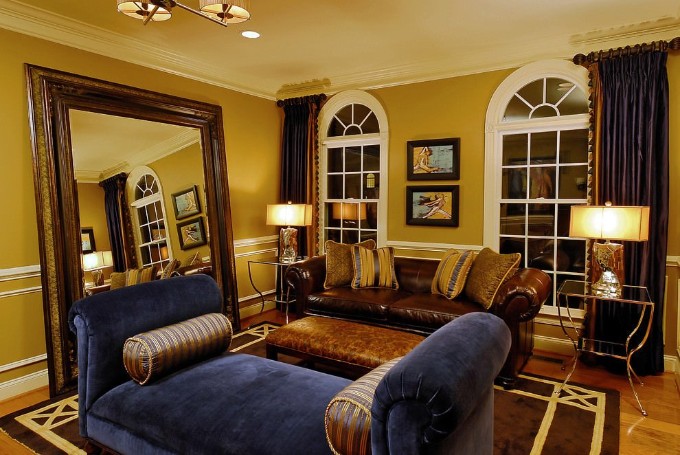 Brown Living Room Decorating Ideas 20 Blue and Brown Living Room Designs Decorating Ideas