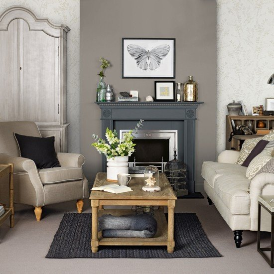 Brown Living Room Decorating Ideas Brown and Grey Living Room