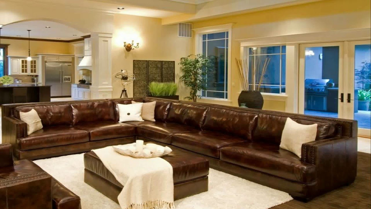 Brown Living Room Decorating Ideas Living Room Decorating Ideas with Brown Leather Sectional