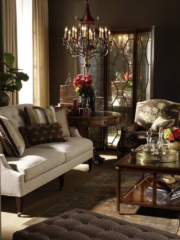 Brown Living Room Decorating Ideas Traditional Living Room Decorating Ideas